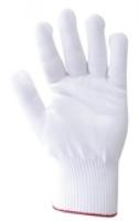100% Nylon Glove/Liner White Pkt 12