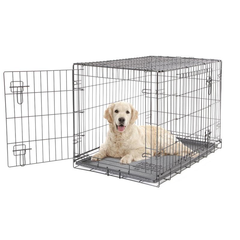 Dogit 2 Door Black Dog Crate - Large
