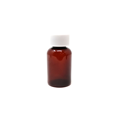 PET Tablet Bottles Amber 50ml (200)