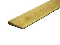 1650MM GREEN FEATHEREDGE EX 100X22MM WHITEWOOD