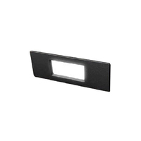 Fumagalli Nina 150 4W LED Wall / Brick Light Black