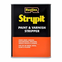 RUSTINS STRYPIT PAINT & VARNISH REMOVER 4LTR