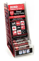 Metal Epoxy Stick 50gr in Dispenser 24pce