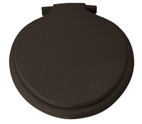 Heavyweight Thermoplastic Toilet Seat Black 313 (Calypso)