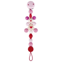 Pink Mouse Pacifier Chain