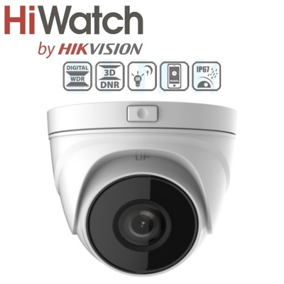 HiWatch 4MP IP Bull 30mtr IR 2.8-12mm Moto/zo