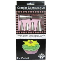 Cupcake decorating set 15 pce