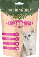 Harringtons Cat Treats - Hairball Control 65g x 12