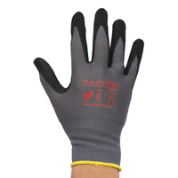 Bodytech Flexi Nitrile Foam Glove, Pair