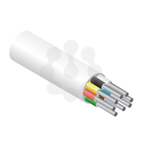 8 Core Alarm Cable White 100mtr Reel