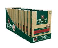 Gelert Country Choice Dog Trays Beef 395g x 10 [Zero VAT]