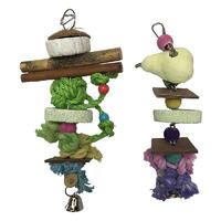 Beaks Multi Fun Mineral Bird Toys 32cm x 6