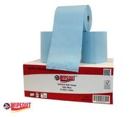 Autocut Roll Towel Blue 6c/s