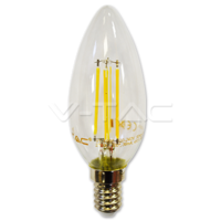 4W LED Candle Filament 2700K