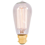 LED VINTAGE SQUIRREL DIMMABLE LAMP 240 VOLT 4 WATT BC 300 LUMEN 2000K 15000 HOUR
