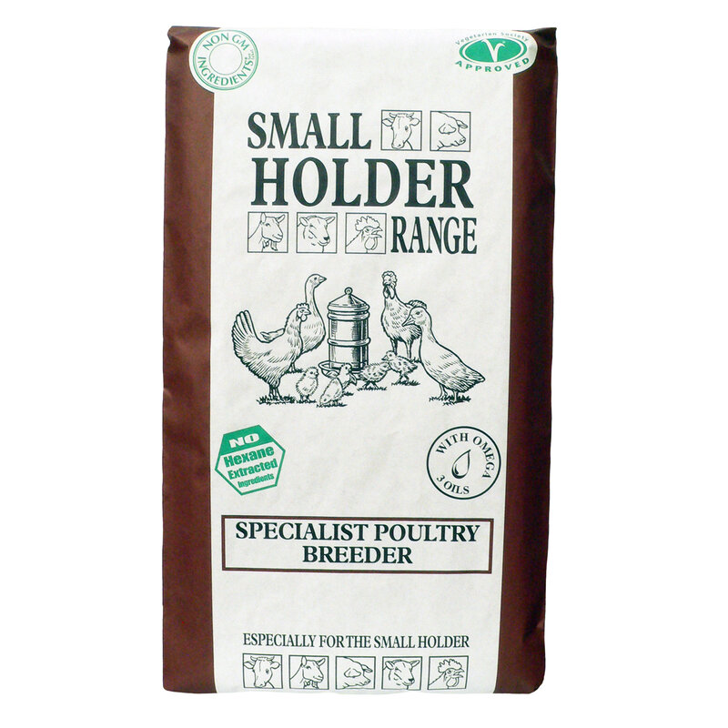 Allen & Page Small Holder Specialist Poultry Breeder Pellets 20kg