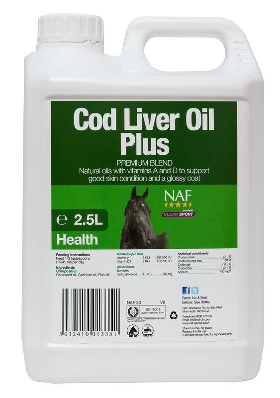 NAF Codliver Oil 2.5L