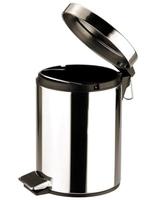 Pedal Bin Stainless Steel Mirror Finish 5Litre