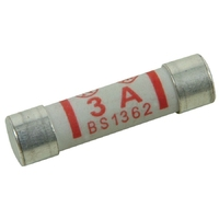 Fuses 3 Amp X 4 Pack Bs1362