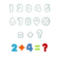 AN301  NUMERALS SET 13Pcs