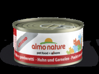 Almo Nature Legend Cat Cans - Chicken & Shrimps 70g x 24