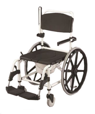 Deluxe Self Propelled Shower and Toileting Chair