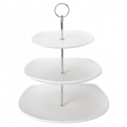 3 Tier Square Ceramic Cake Stand