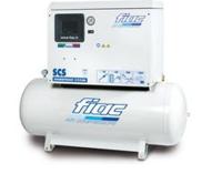 Fiac 3HP 200 LTR 230Volt SCS415/200 Low Noise Piston Compressor Without Dryer (112.168.0670) CFM 14.0