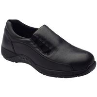 Blundstone 743 Women's Slip On Safety Shoe Black