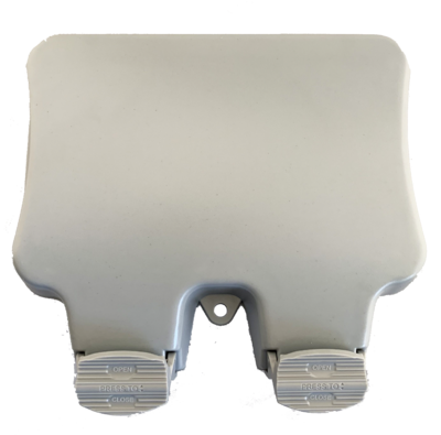 twin socket ip65 2 gang for outdoors