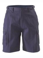 Bisley Mens Cotton 8 Pocket Cargo Shorts 310gsm