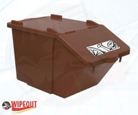 STACKABLE CONTAINER/LID 45ltr BROWN