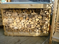 LOG STORE 2.4M X 60CM X 1.2M HIGH