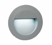 ONE Light Round Grey Recessed LED Brick Light IP54
