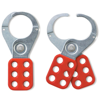 Master Lock Steel lockout hasp, 38mm jaw clearance
