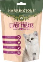 Harringtons Cat Treats - Liver 65g x 12