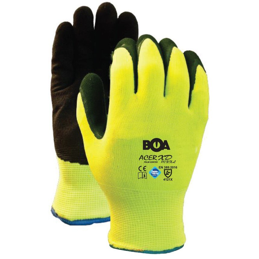 BOA Acer XD Palm Coated Glove
