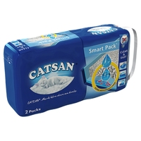 Catsan Hygiene Cat Litter Smart Pack 2 x 4 Litre