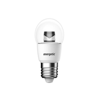 Energetic Mini Globe Clear Dimmable 4.8wE27 / ES