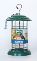 "Supa Plastic Fortress Seed Feeder 8"" x 1"