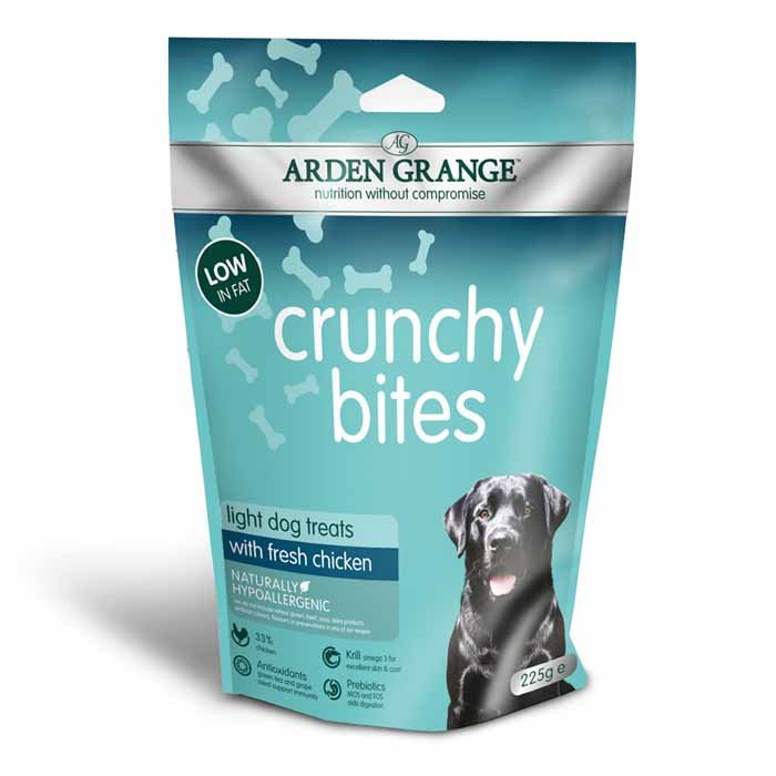 Arden Grange Crunchy Bites Light – rich in chicken 225g