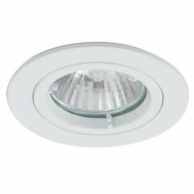 White IP44 Twist-Lock Bathroom Downlight | LV1002.0030