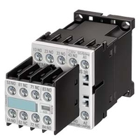 SIEMENS Contactor Relay, 4NO, AC 230 V, 50/60 HZ, Screw Connection, Size S00