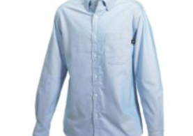 Caterpillar Long Sleeve Blue Shirt