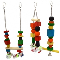 Beaks Wooden Bird Toys - Regular x 1