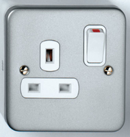 13A Single SP Switched Socket