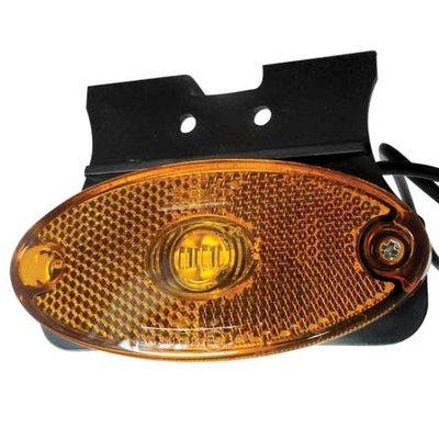 Amber LED Marker Lamp With Bracket