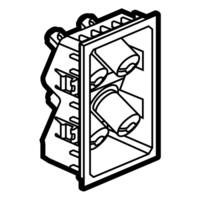 Arteor Hometheatre Loudspeaker 3 Module -  White   LV0501.2454