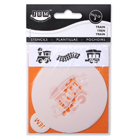 STENCILS TRAIN SET OF 3