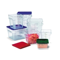 Food Storage Container Square Polycarbonate 5.7 Litre